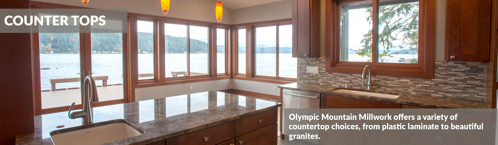 Olympic Mountain Millwork Counters